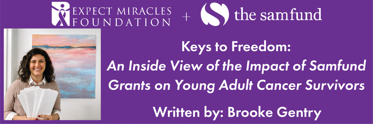 Keys to Freedom - An Inside View of the Impact of Samfund Grants on Young Adult Cancer Survivors